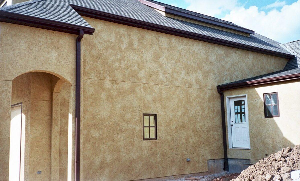 фасадная штукатурка дома