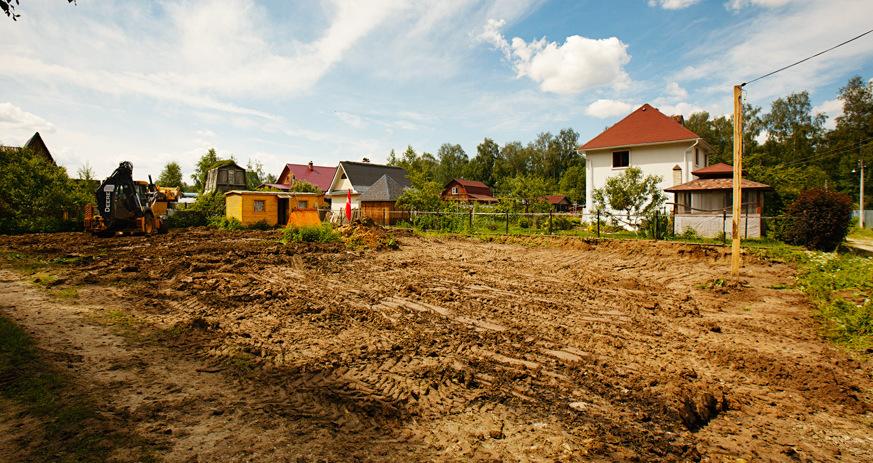 как подготовить участок под строительство