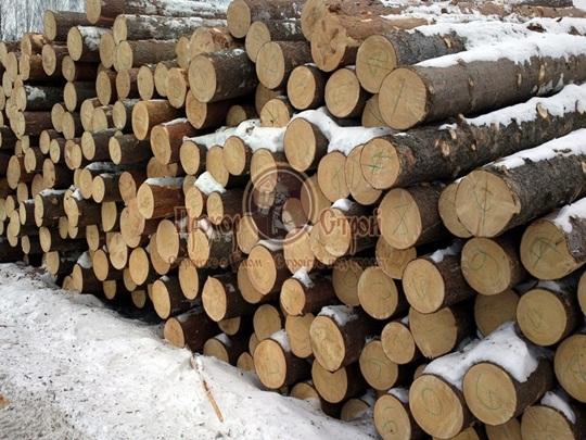 Заготовка лесного массива